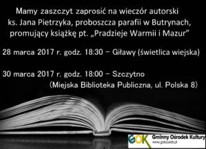 plakat ks Pietrzyk