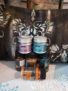 malowanie - tkanina