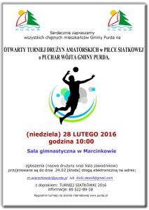 PLAKAT - turniej siatki 2016 OKK