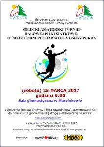 OK PLAKAT - turniej siatki 2017